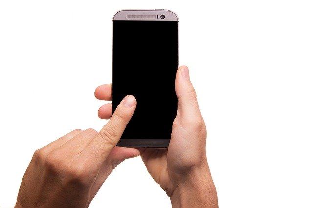 mobile phone hanging