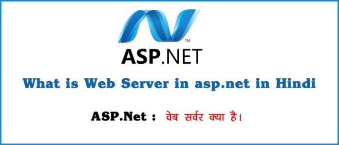 What is Web Server in asp dot net in Hindi
